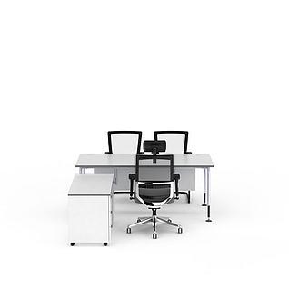 办公桌椅家具3d模型3d模型