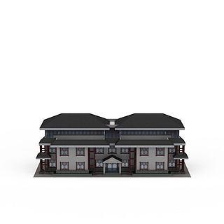 正府办公楼3d模型