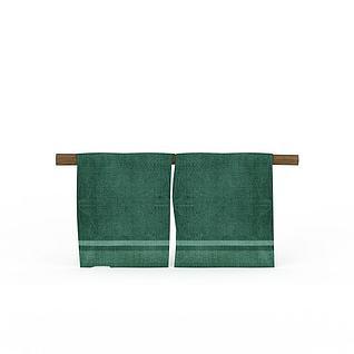 Q版场景道具床单3d模型