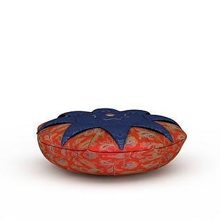 蕃茄抱枕3d模型3d模型