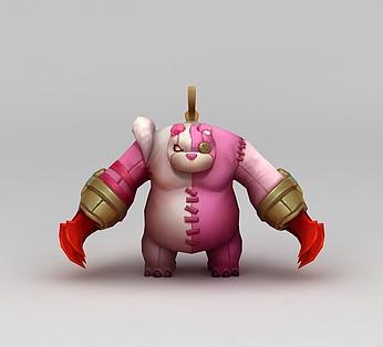 王者荣耀角色熊猫