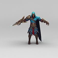 王者荣耀角色3D模型3d模型