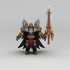 王者荣耀角色道具装备3D模型3d模型