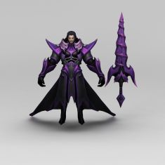 王者荣耀角色装备3D模型3d模型