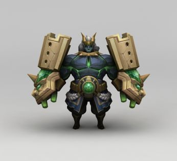 王者荣耀游戏人物金刚战士