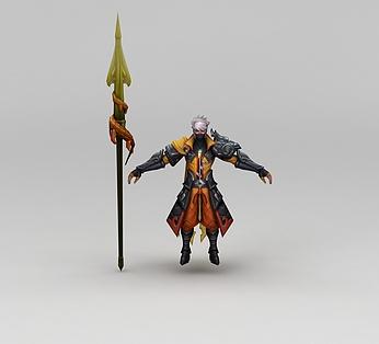 王者荣耀游戏人物战士