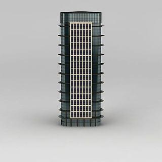 现代商业办公楼3d模型