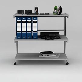电子产品置物架模型