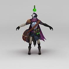 王者荣耀人物角色3D模型3d模型