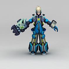 王者荣耀游戏角色3D模型3d模型