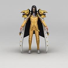 王者荣耀游戏人战士3D模型3d模型