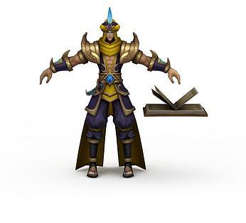 王者荣耀游戏人物异域战士