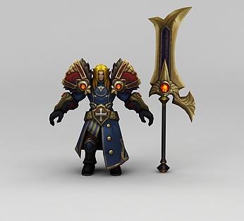 王者荣耀游戏人物男人战士