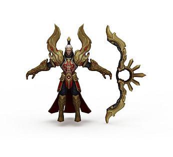 王者荣耀游戏人物战神