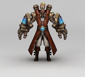王者荣耀游戏人物战士男人