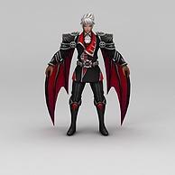 王者荣耀角色男3D模型3d模型