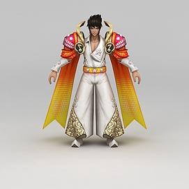 3d<font class='myIsRed'>王者荣耀</font>角色男模型