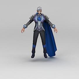 3d<font class='myIsRed'>王者荣耀</font>角色男人物模型