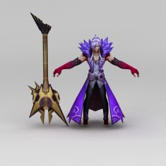 王者荣耀角色人物3D模型3d模型