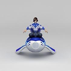 王者荣耀角色女3D模型3d模型
