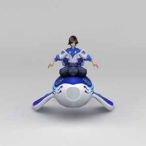 王者榮耀角色男模型3d模型