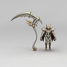 王者荣耀角色怪兽3D模型3d模型