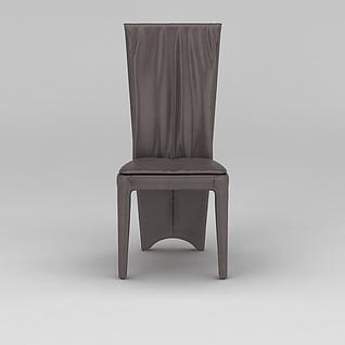 时尚餐椅宴会椅3d模型