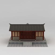 川西建筑3D模型3d模型