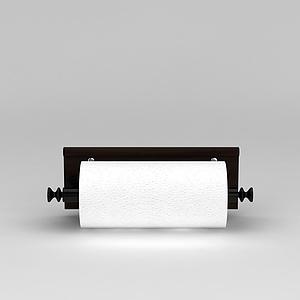 厨房纸巾架模型