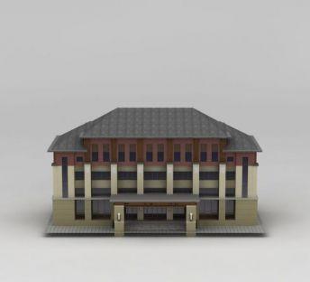 办公会所建筑