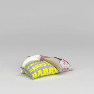 抱枕组合3d模型