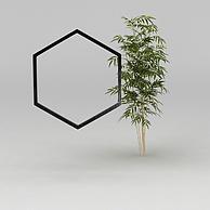 园林景观小品3D模型3d模型
