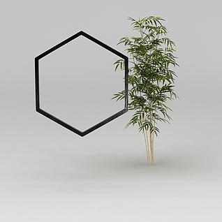 园林景观小品3d模型
