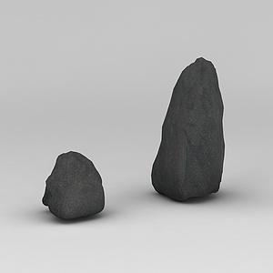 3d<font class='myIsRed'>假山</font>石头模型