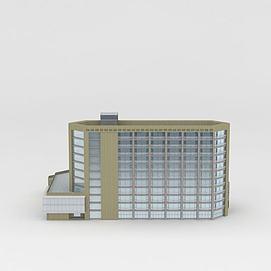 办公楼楼宇3d模型