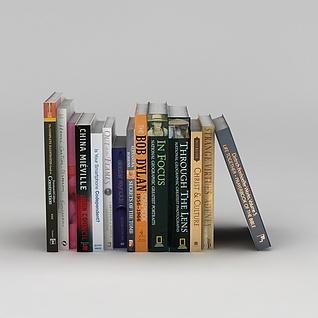 书刊杂志3d模型