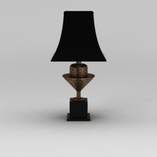 现代创意台灯3d模型
