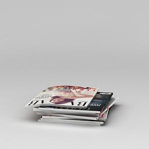 3d报刊<font class='myIsRed'>杂志</font>模型
