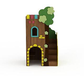 儿童城堡3d模型