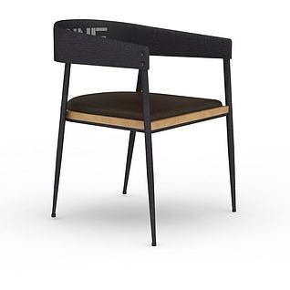 现代简约座椅3d模型3d模型