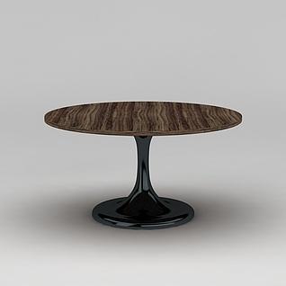现代时尚简约桌子3d模型