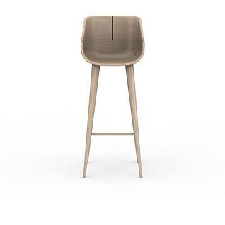 北欧伊姆斯木椅3d模型3d模型