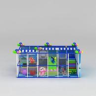 儿童游乐设施淘气堡3D模型3d模型