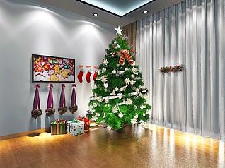 圣诞树3d模型