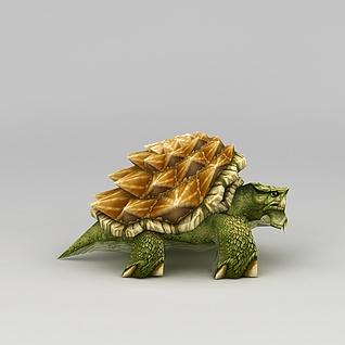 游戏角色乌龟3d模型3d模型