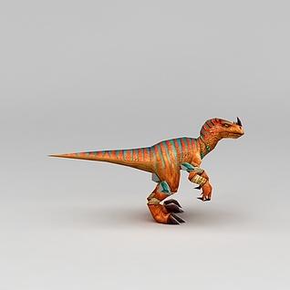 游戏角色恐龙3d模型3d模型