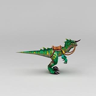 游戏角色恐龙坐骑3d模型3d模型