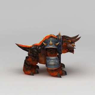 游戏角色怪兽3d模型3d模型