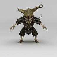 龙子谷动漫游戏角色3D模型3d模型