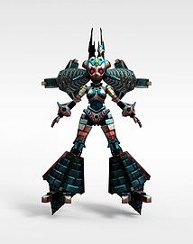 龙子谷游戏动漫角色3d模型